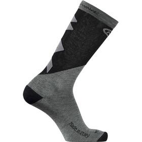 Northwave Extreme Pro Długie skarpety Mężczyźni, grey melange/black